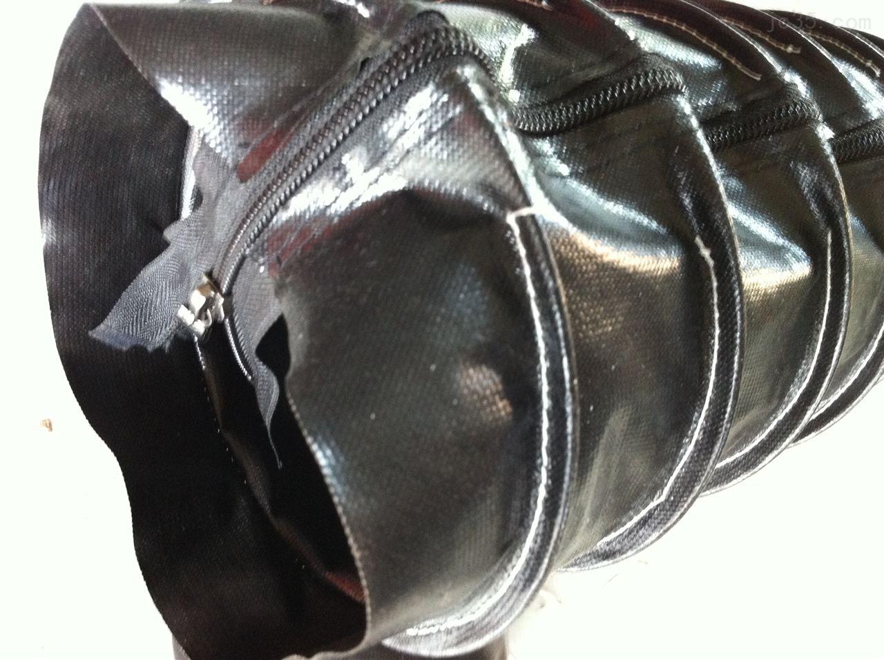 油缸防护罩缝合拉链式油缸保护套
