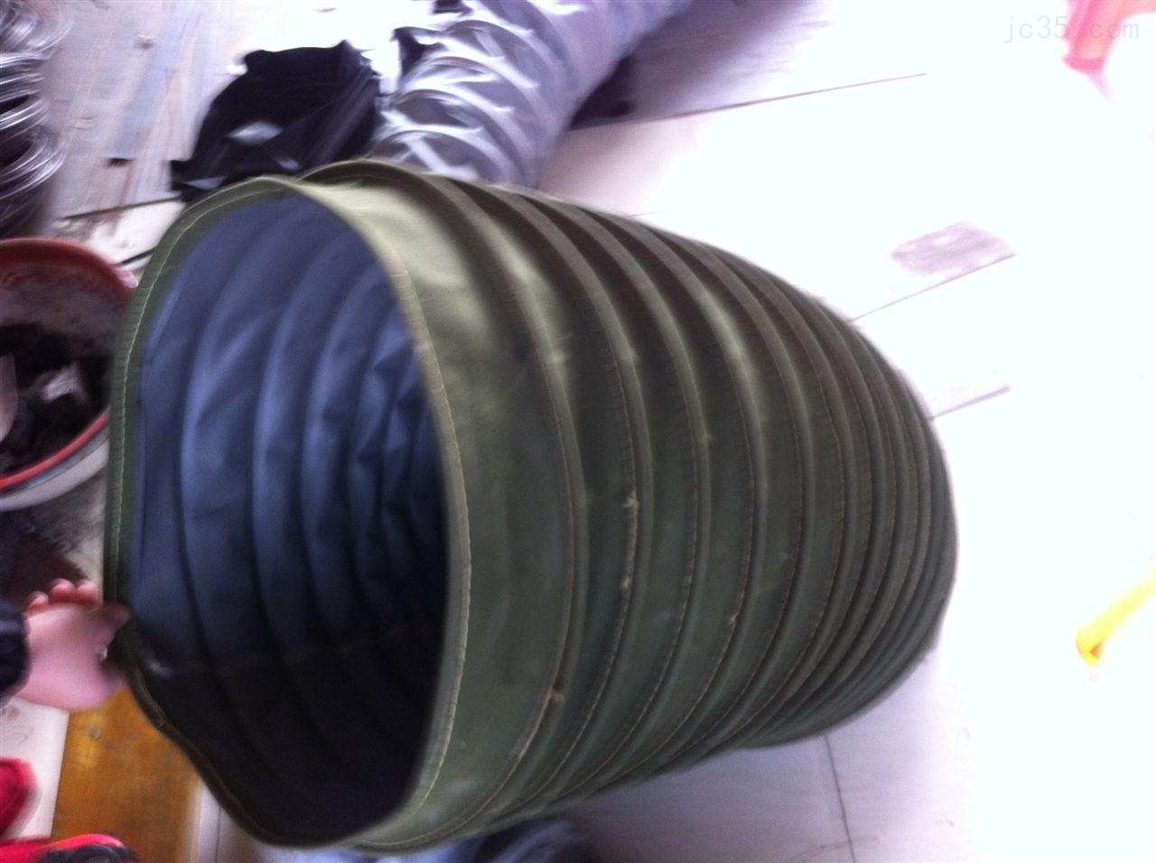机械吊环式散装机用伸缩布袋