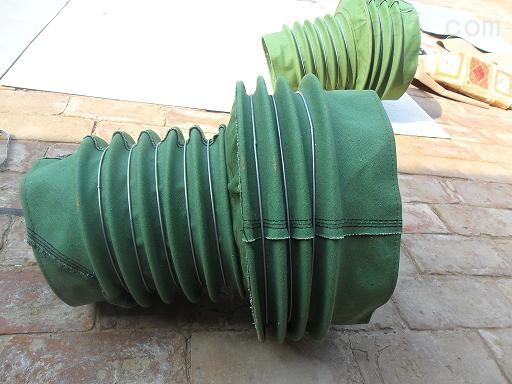 纺织机械专用防尘通风伸缩软连接