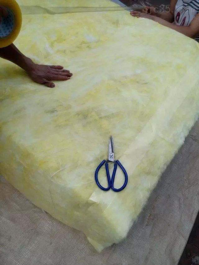 帆布保温软连接 硅胶布夹层保温软连接防漏温帆布软连接