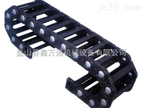 桥式工程拖链,成都工程塑料拖链,全封闭型下开盖式拖链