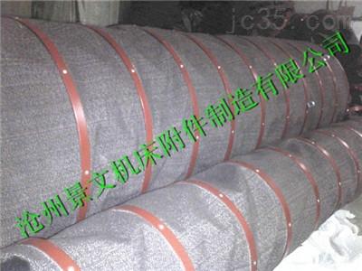 钢带吊环式散装水泥伸缩布袋专业定制