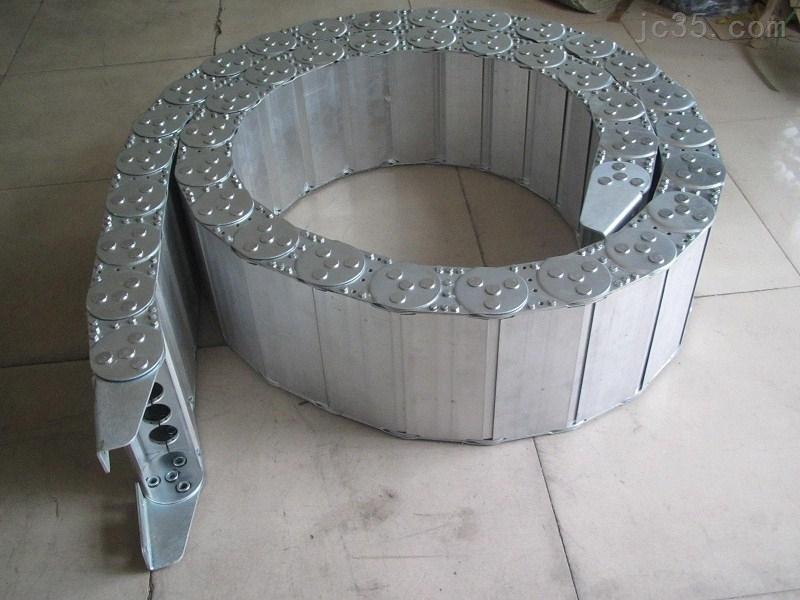 耐腐蚀全封闭钢铝拖链,钢制拖链