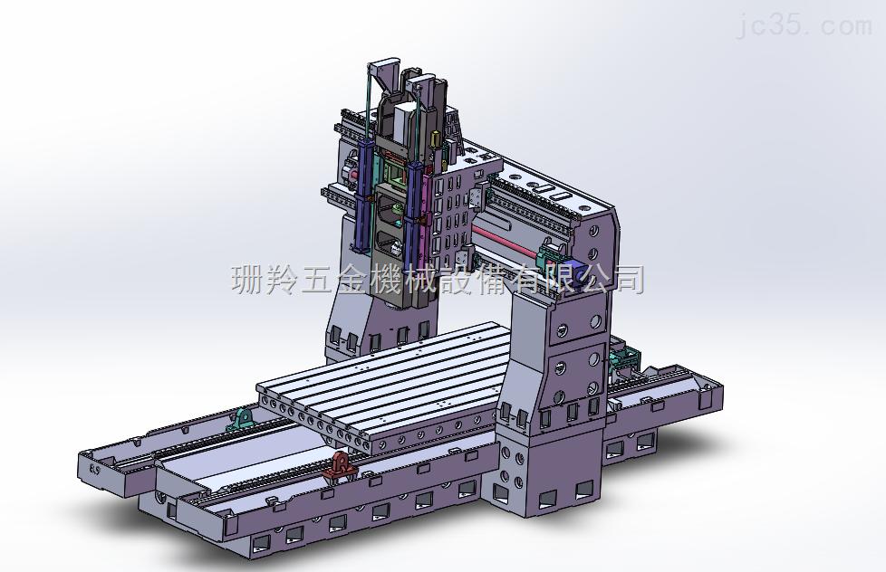 SLX-2518龍門加工中心機