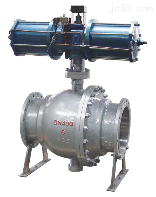 气动喷煤粉式球阀