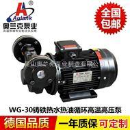 WG系列(高压型)高温泵