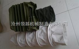 耐磨损伸缩帆布软连接 帆布伸缩布袋