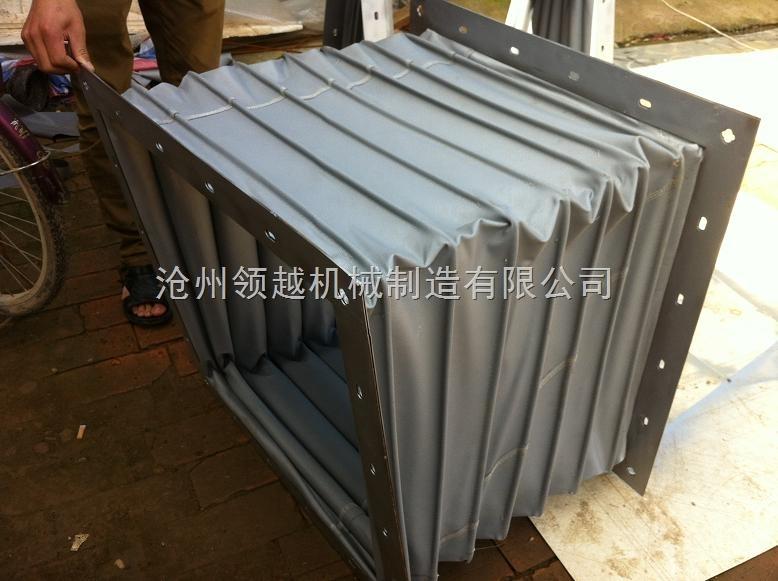 锂电涂布机专用方形通风耐温软连接定做厂家