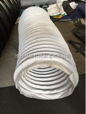 耐热工业锅炉除尘设备通风软连接 伸缩通风管