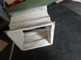白色耐磨帆布软连接  方形耐磨帆布伸缩节
