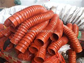 阻燃布排烟通风管 阻燃排烟伸缩管 阻燃布高温通风管