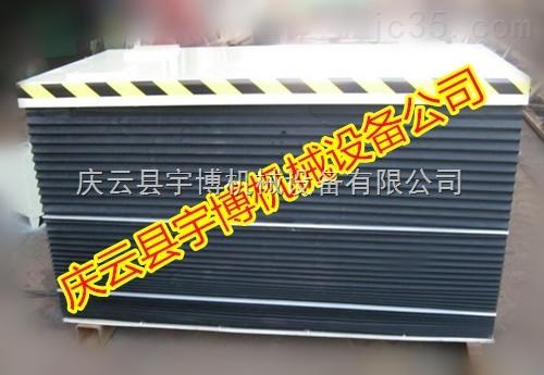 风琴式导轨伸缩保护套 升降机保护罩 方型伸缩套