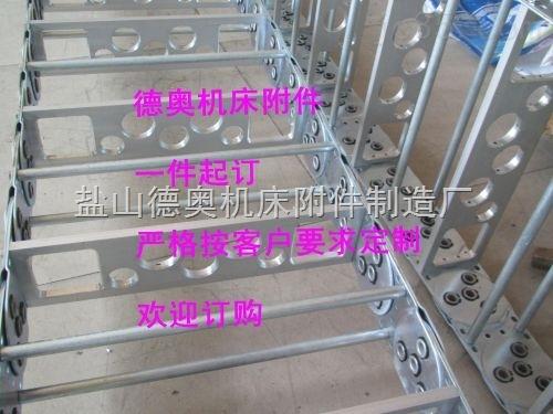 白银线缆保护型钢铝拖链规格型号
