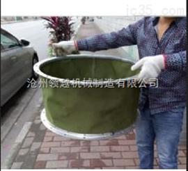 耐酸碱防腐蚀矩形帆布伸缩软连接厂家