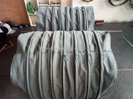煤粉輸送耐磨帆布除塵伸縮布袋定做