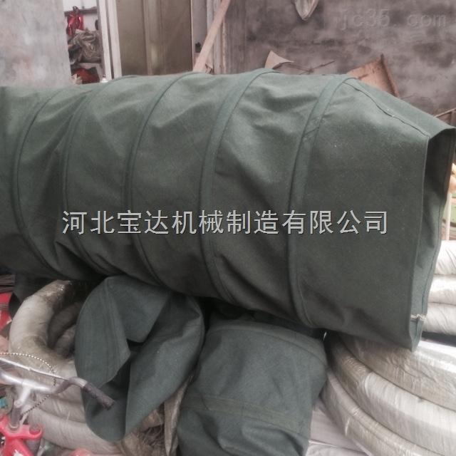 加厚耐磨帆布伸缩布袋专用于水泥厂