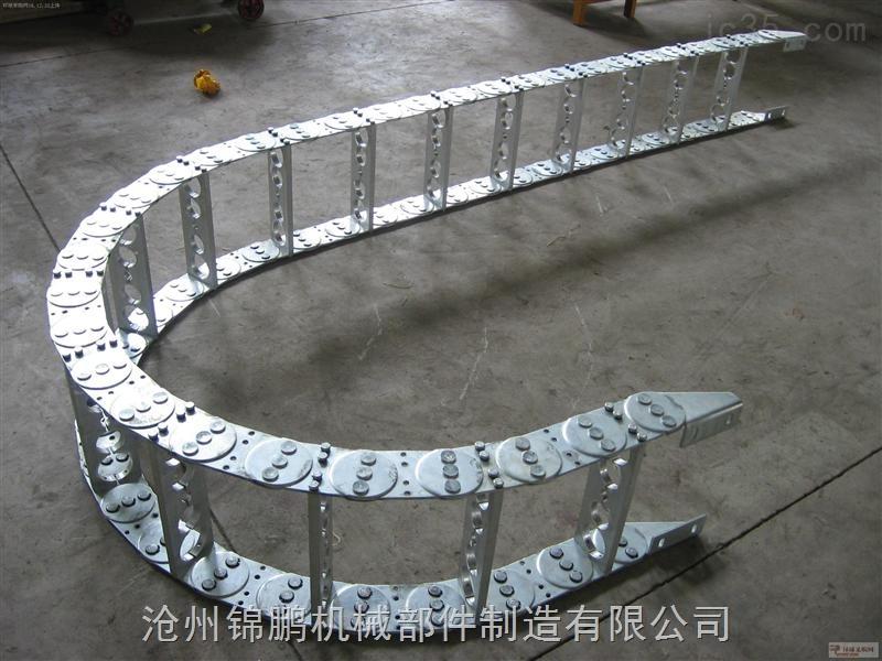 打孔式内高30钢制拖链厂家