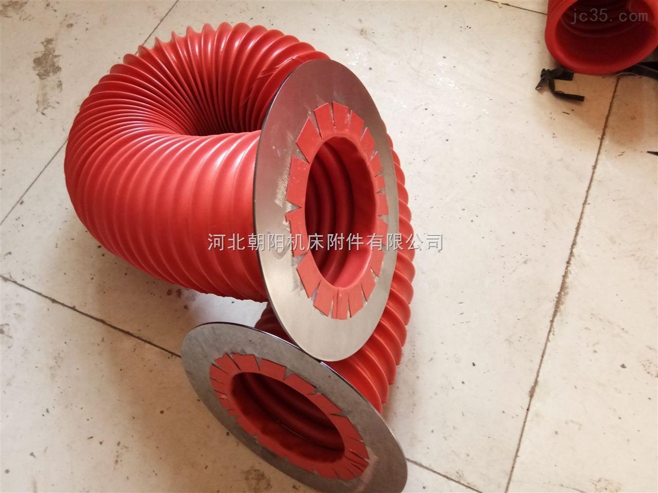 液压机防尘设备橡胶丝杠防护罩