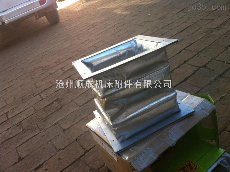 铝箔保温防火伸缩软连接保温性能强
