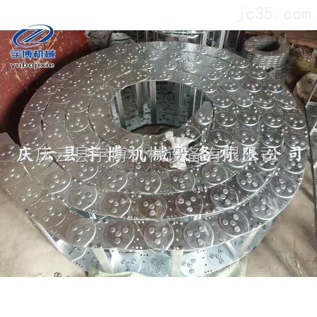 供应菏泽电厂用钢制拖链 泰安工程钢制拖链 东营拖链