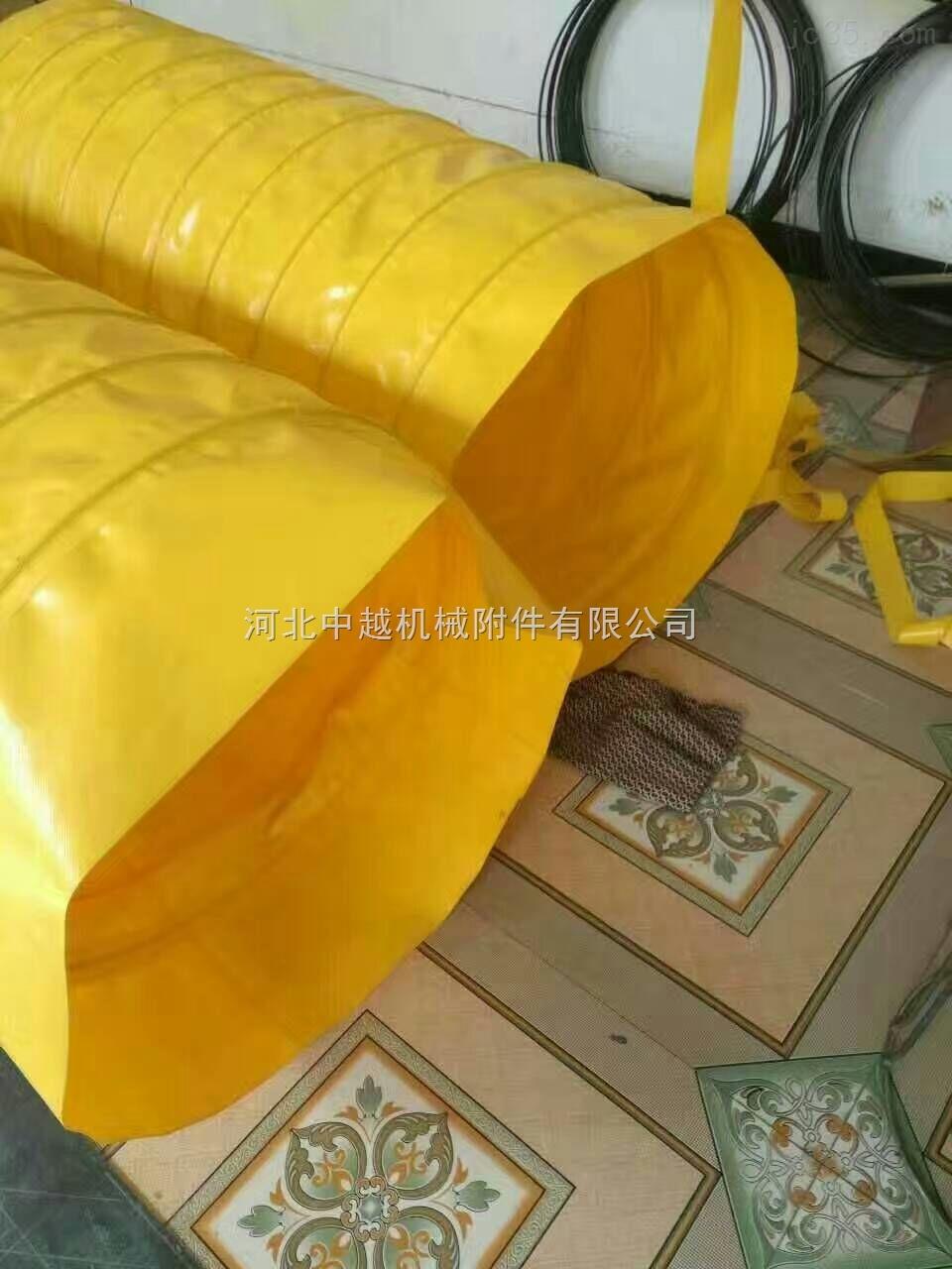 机械设备耐温防油伸缩式丝杠保护套