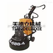 688型24头变频研磨机 旧环氧地坪翻新 密封固化地坪抛光机