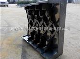 宁波杭州加工中心导轨防护罩 钢板防护罩实地测量安装