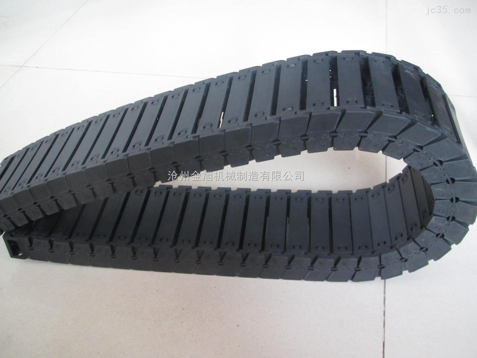 武汉55*100穿线塑料拖链