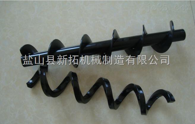 专业厂家制作螺旋叶片210/304/316/不锈钢碳钢绞龙叶片定做图片