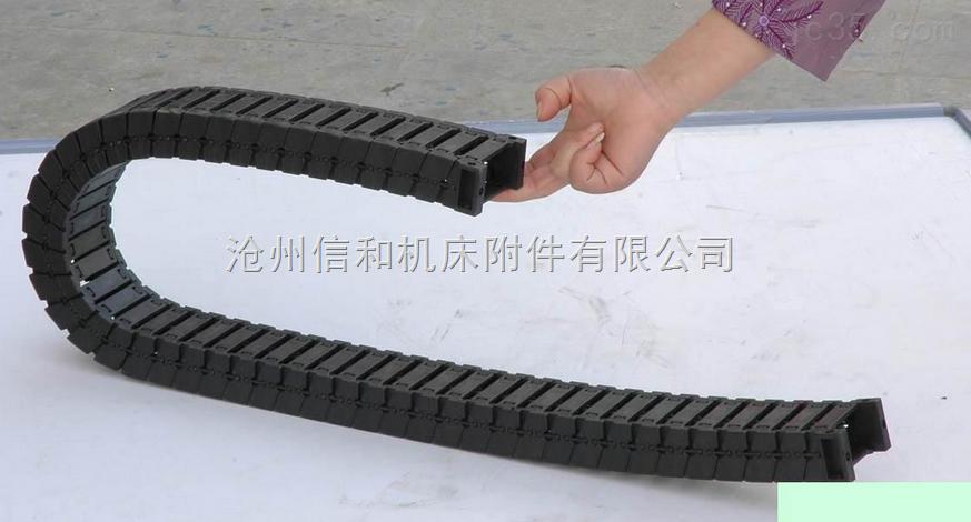 高弹性机床穿线塑料拖链