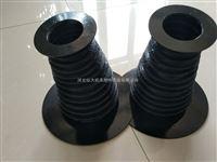 钢圈支撑黑色三防布油缸防尘罩