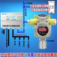 化工厂罐区乙醇浓度报警器,气体泄漏报警装置