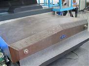 供应鞍山大型车床钢板防护罩