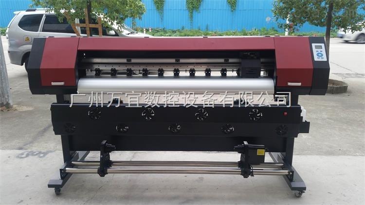 广州供应虹盈xp600户外广告压电写真机 海报车贴喷绘打印机