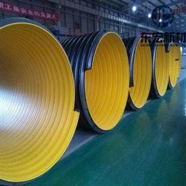 矿井用HDPE钢带波纹管道厂家直销