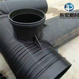 110~800mmDN500耐腐蚀高密度聚乙烯钢带波纹管道