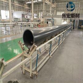 80~800mm新疆冶炼厂用超高分子耐磨管道,加工点