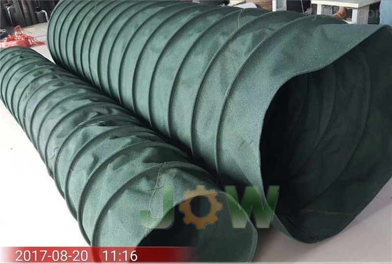 廣州帆布通風伸縮軟管廠家按圖紙定做