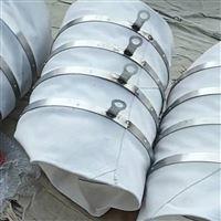 白色水泥输送帆布伸缩袋
