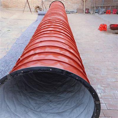 厂家生产钢带伸缩式加厚帆布布袋