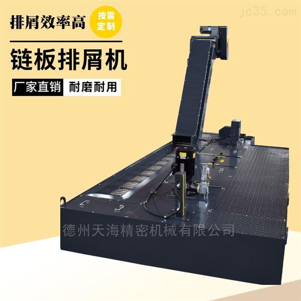 铁屑输送提升链板排屑机