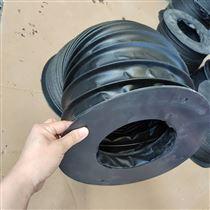 口径200橡胶布耐高温圆形防尘罩