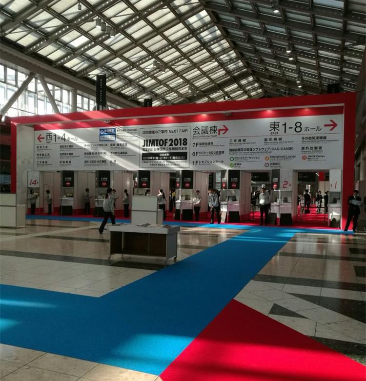 第28届日本国际机床展于17日在东京举办