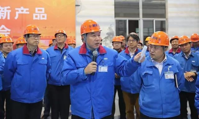 济南二机床车间举办新产品演示会