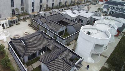 """苏多栋3D打印建筑亮相 建迷你""""小镇"""""""
