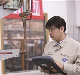 技术带头人常锋:掌管409台工业机器人
