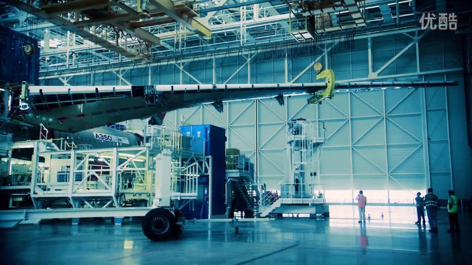 走进飞机梦工厂 探秘空客A350 XWB飞机总装线