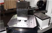 环球机械数控双头铣床现场-四面加工解决方案