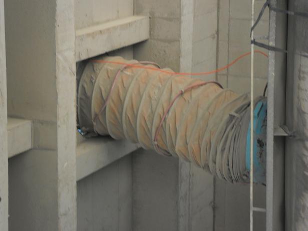 耐磨防尘帆布输送软连接产品图
