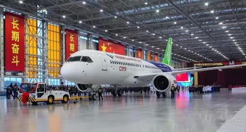 国产大飞机c919研发 持续引发市场关注